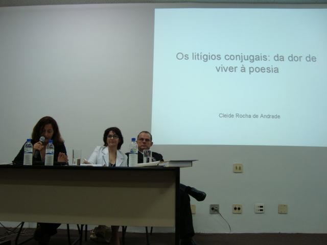 Cleide Rocha, Ilka Ferrari, Newton Teixeira