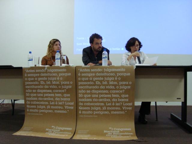 Gilsiane Braga, Pedro Castilho, Jane Franco