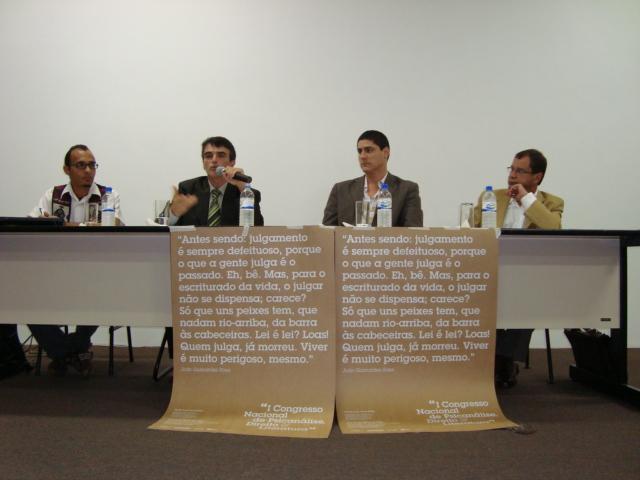 Cleber Assis, Hélio Miranda Jr., Bernardo Maranhão, Miguel Bonifácio