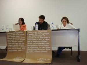 Cristiane Barreto, Pedro Castilho, Cristina Vilas Boas